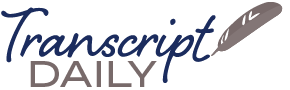 Transcript Daily logo