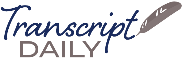 Transcript Daily logo